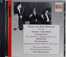 Mozart, Beethoven, Wieniawski, David & Igor Oistrach, New CD