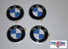 NEW BMW E10 2002 E21 E30 GENUINE Set of 4 Wheels Center Cap Emblems 36131181082