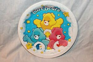 NEW IN PACKAGE CARE BEARS   8-  PAPER LUNCH PLATES  PARTY SUPPLIES