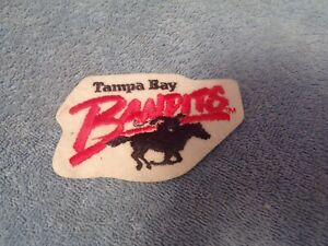 USFL: Tampa Bay Bandits Team Patch