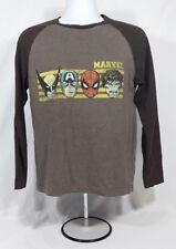 Men's Medium Marvel Long Sleeve Shirt