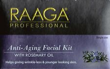Raaga Professional Anti Aging Facial Kit with Rosemery Oil, Wrinkle Less -43 gm
