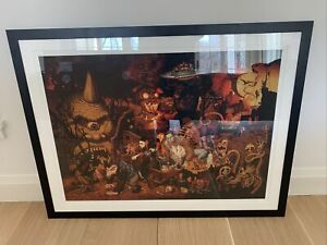 Todd Schorr PARADE OF THE DAMED Framed Museum Quality