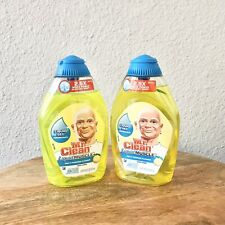 2 Mr Clean Concentrated Multi Purpose Cleaner Crisp Lemon 16 oz Each