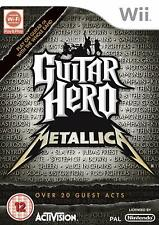 Wii Spiel Guitar Hero Metallica NEUWARE