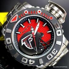 Invicta Sea Hunter Gen II NFL Atlanta Falcons 70mm Steel Automatic Watch New