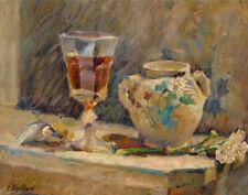 Vuillard Edouard The Madeira Glass Canvas 16 x 20   #4354