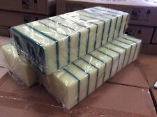 More details for 50 x sponge scourers scouring pads - food safe - large size - catering scourer