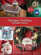 Christmas Traditions in Plastic Canvas by Crow, Judy