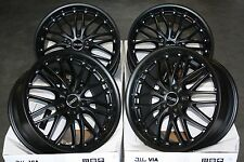 "18"" STEALTH ALLOY WHEELS FIT ALFA 159 CADILAC BLS FIAT CROMA SAAB 9-3 93 9-5 95"