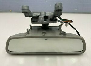 2010 - 2013 MERCEDES S CL CLASS - INTERIOR REAR VIEW MIRROR GRAY OEM A2218105717
