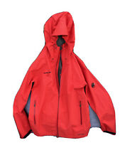 MAMMUT GORE-TEX PERFORMANCE SHELL JACKET MEN SIZE SMALL OUTDOOR SPORT RED