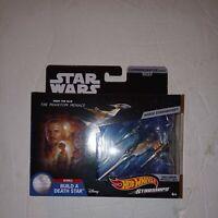 Hot Wheels Star Wars Starships Commemorative Series # 1 of 9 Naboo Starfighter