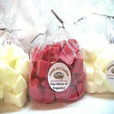 100 Tarts Candle Wax Melts Chunks Chips Embeds for Warmers Burners Fragrance