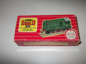 Hornby Dublo Diesel shunter 2 rail locomotive box only
