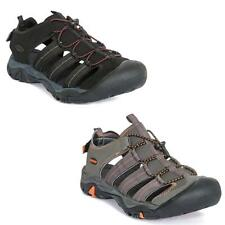 Mens Trespass Torrance Hiking Sandals Closed Toe for Protection