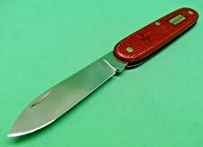 Victorinox 93mm Solo Swiss Army Knife in Red Alox old cross