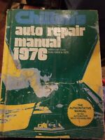 Vintage 1976 Chiltons Auto Repair Manual American Cars from 1969-76 RESTORATION