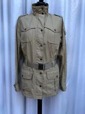 Barbour Gaberdine Type Mustard Womens Jacket Size 14