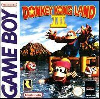 Donkey Kong Land III - Nintendo Game Boy Color