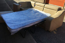 2015 Flexsteel Tan J-Lounge Sleeper couch sofa mattress Extenda bed Boat or RV