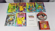 Pokemon Scholastic Book Lot 2003 Fire Pokedex Official Handbook Project Studio