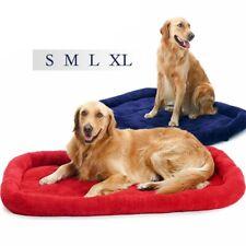 Pet Dog Cat Sleeping Bed Mat Mattress Kennel Crate Pad Soft Warm Cushion Blanket