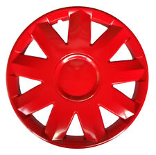 "4x16"" Wheel trims covers fit Suzuki cars 16"" wheels red"