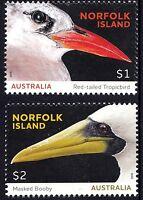 2016 Norfolk Island Seabirds Set of Stamps MNH