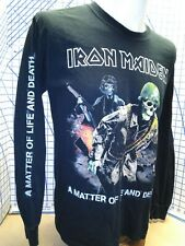 Iron Maiden A Matter Of Life And Death Tee size medium 2007 long sleeve shirt
