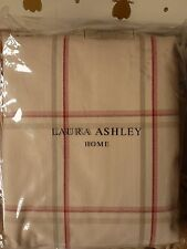"Corby Check cranberry curtains 88"" x 90"" 223 X 229cm large french door tartan"
