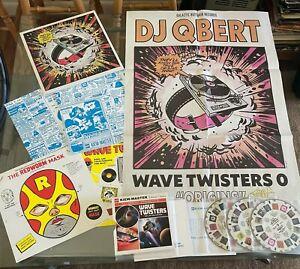 "ORIGINS - Wave Twisters 0 2xLP  DJ Qbert LOST ENCOUNTERS 7"" Box Set  Signed"