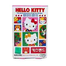2 Box Hello Kitty Kids Band Adhesive Bandages Plasters Standard Max 16 pads