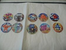 Walkers Spooky TAZOS TAZO Complete set of 10 Mint Condition No's 31 - 40
