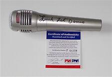 FATS DOMINO SIGNED MICROPHONE PSA COA P64350