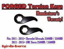 "2011-19 Chevy Silverado GMC Sierra 1500HD 2500HD 3500HD 1""-3"" Torsion LIFT KEYS"