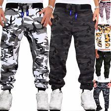 Herren Jogginghose Sweatpants Fitness Camouflage Sporthose Training Sport Hose