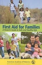 First Aid For Families by AAP - American Academy of Pediatrics (English) Paperba