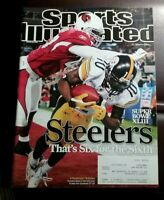 Sports Illustrated February 9 2009 Santonio Holmes Pittsburgh Steelers Superbowl