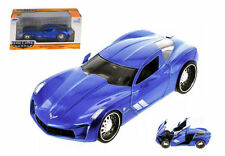 Corvette Stingray Concept 2009 Atomic Blue 1:24 Model JADA TOYS