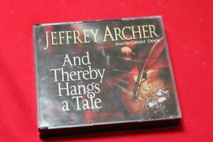 """""""And Thereby Hangs a Tale"""" - JEFFREY ARCHER - Audio -  6 cd's"""
