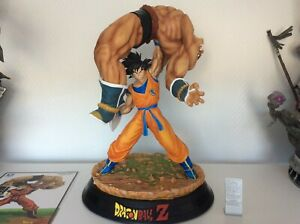 Tsume Art Dragon Ball Z HQS The Quiet Wrath of Son Goku Statue DBZ sangoku Nappa