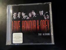 CD ALBUM - SOUNDTRACK - LOVE HONOUR & OBEY