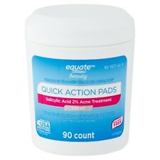 Equate Beauty Quick Action Pads, 90 count (4a)
