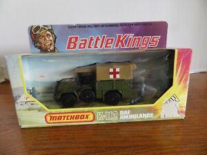 MATCHBOX BATTLE KINGS DAF AMBULANCE