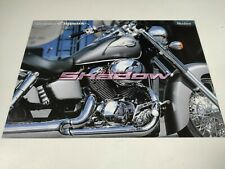 Prospectus Catalogue Brochure Moto Honda 400 et 750 Shadow 1998 Japanese