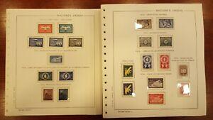 Coleccion sellos Naciones Unidas años entre 1952 y 1996 consultar en tienda ONU