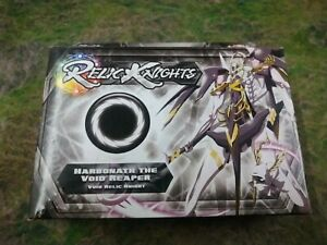 RELIC Knights Strategy Game - HARBONATH THE VOID REAPER CMON BNIB