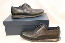 Cole Haan Men's Original Grand Shortwing Oxford Shoes Black Size 10.5