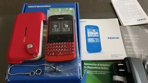 Nokia E5-00 - Red (Unlocked) Smartphone Special Edition
